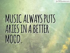 Depends on the music