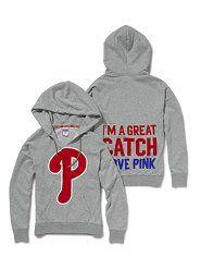 VS hoodies for summer baseball - phillies love.