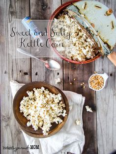 Homemade Kettle Corn | Budget Gourmet Mom