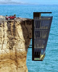 Conceptual design of a Cliff House - by Modscape Architects - Australie