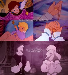 Brings back memories of when I was a younger me and had to sit RIGHT in front of the TV :) I still love the Swan Princess and her charming prince (even though he started out lame :P)