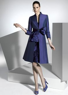 A very smart formal daywear dress and coat by Carla Ruiz - love ...