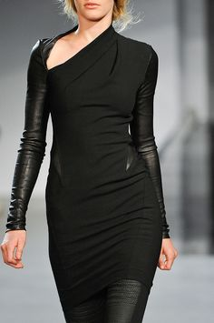 this dress is so right in so many ways. (helmut lang fall 2012) #fashion