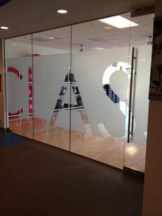 window film retail - Google Search Office Graphics, Window Graphics, Shop Signage, Retail Signage, Glass Sticker Design, Glass Design, Spa Interior, Office Interior Design, Corporate Interiors