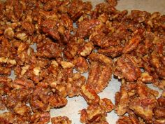 Candied pecans salad topper