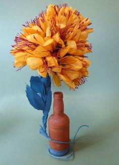 Paper Flowers, The Past, Garden, Plants, Painting, Art, Art Background, Garten, Lawn And Garden