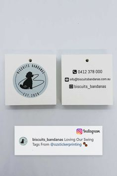 Having doubts about investing swing tags for your business with us? Take Biscuits Bandanas review on our premium swing tags as an assurance that your business is in good hands. Check out their social media channels for personalised bandanas. Want your business to be featured by us? Leave us a review today. Swing Tags, Social Media Channels, Bandanas, Biscuits, Investing, Hands, Business, Check, Instagram