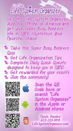 Have you installed the Life system Organizer app yet? Check out the gallery at any time to get a motivational boost!