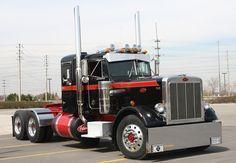 Vintage Peterbilt 359 | Peterbilt 359 Show Trucks The national truck beauty