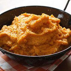 Garlic Sweet Potato Mash Recipe | Yummly