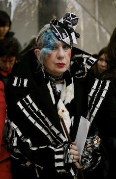 WreakHavocNY: An Ode to Anna Piaggi: The Original Irreverent Fashion Icon