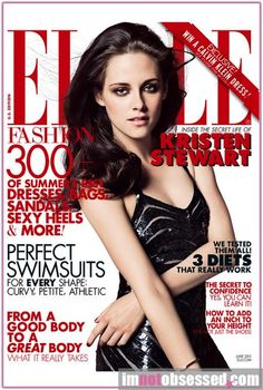 Kristen Stewart's magazine covers – Elle vs Elle | Fash Mob