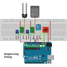 Arduino Weather Station (AWS): 4 Steps (with Pictures) Diy Arduino, Esp8266 Arduino, Arduino Programming, Arduino Board, Arduino Beginner, Diy Electronics, Electronics Projects, Electrical Projects, Arduino Projects
