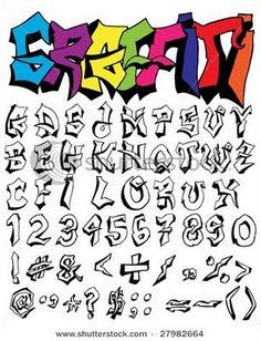 Graffiti Art Names | Label: graffiti fonts