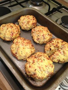 Life as it happens: Slimming World Cheese, Ham and Onion Scones