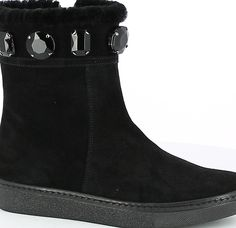 Shearling Stone Demiboot