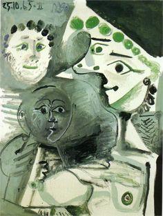 Family, 1965  Pablo Picasso