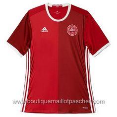 Acheter Maillot de foot pas cher Danemark 2016 Domicile