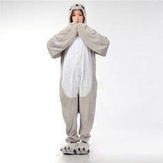 www.Petalsfashionz.com Quick shipping low prices women's Anime & Kpop Otaku And Fandom Merchandise New Winter Cartoon Sea Lion Pajamas For Women Unisex Animal Cute Hoodie Pajama Adult Homewear Sleepwear Pyjamas Anime