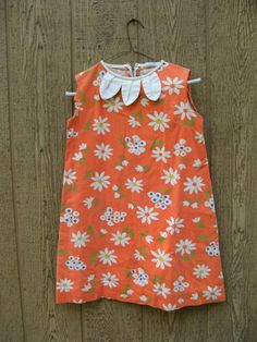 vintage little girl mod shift dress - gorgeous! Little Girl Fashion, Kids Fashion, Fashion Show, Vintage Baby Dresses, Pretty Kids, Kid Styles, Girly Things, My Girl, Kids Outfits