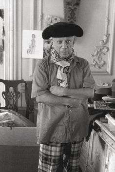Pablo Picasso by Edward Quinn. What an awful old ham Pablo really was. But still somehow irresistible.