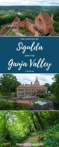 A green and historic pocket of Latvia, the castles of Sigulda and the Gauja Valley via @travelsewhere