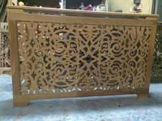 #laser #cut #radiator #screen