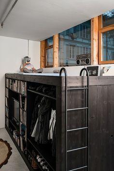 living cube designermöbel hochbett design