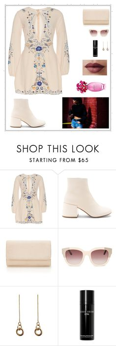 """Untitled #886"" by sofiy112 ❤ liked on Polyvore featuring MM6 Maison Margiela, Laura Lombardi and Bobbi Brown Cosmetics"