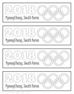 This freebie is a set of printable bookmarks for your students to color in celebration of the upcoming 2018 Winter Olympics in PyeongChang, South Korea. Please check out my other 2018 Winter Olympics Items! PyeongChang 2,18 Olympics Fortune Teller PyeongChang 2,18 Olympics PowerPoint South Korea PowerPoint: Geography, Culture, Government & Economics 2,18 PyeongChang Winter...