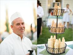 I cream cone tower