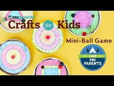 DIY Toy: Mini Ball Game: Video | Crafts for Kids . PBS Parents | PBS