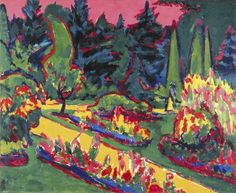 """The same year that Richard Strauss' opera """"Salome"""" premiered in Dresden, the German city saw the birth of """"Die Brucke"""" (""""The Bridge""""), a group of artists that included Ernst Ludwig Kirchner."""