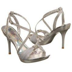 Sizzle by Coloriffics Antilles Shoes (Silver) - Women's Shoes - 5.5 M