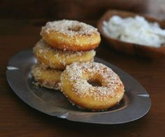 Fried Coconut Flour Donuts Low Carb and Gluten Free Fried Coconut Flour Don. - Fried Coconut Flour Donuts Low Carb and Gluten Free Fried Coconut Flour Don… - Low Carb Donut, Paleo Donut, Keto Donuts, Gluten Free Donuts, Low Carb Sweets, Low Carb Desserts, Low Carb Recipes, Doughnuts, Banting Recipes