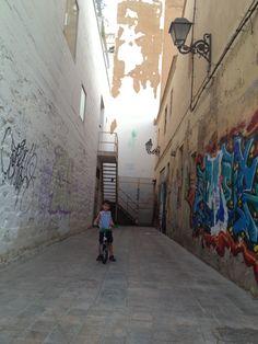 GC5Y630 welcome to el callejon. Encontrado en Valencia el 24/08/2015