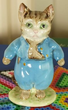 Pottery Gentle Vintage Beswick Persian Cat