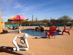Check out the trip advisor reviews of Desert Joy in Tucson, AZ http://www.tripadvisor.com/Hotel_Review-g60950-d6090510-Reviews-Desert_Joy_Clothing_Optional_Bed_and_Breakfast-Tucson_Arizona.html