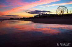 Gillian's Wonderland (beach, sunset, ocean city, new jersey)