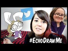 Drawing my Twitter Followers as Bunnies Echo Gillette, Twitter Followers, Do It Anyway, Bunnies, Drawings, Art, Art Background, Kunst, Sketches