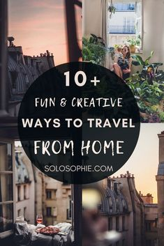 Armchair Travel: Inspired Ways You Can Travel Without Leaving Home. How to cure Wanderlust in your house with these travel via your couch ideas