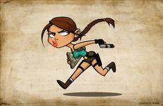 Toon Lara Croft, Tomb Raider •Cameron Mark