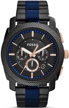 Fossil Watch Machine Mens #add-content #bezel-fixed #bracelet-strap-steel-black-pvd #brand-fossil #case-material-steel-black-pvd #case-width-45mm #chronograph-yes #delivery-timescale-1-2-weeks #dial-colour-black #fashion #gender-mens #movement-quartz-battery #new-product-yes #official-stockist-for-fossil-watches #packaging-fossil-watch-packaging #style-dress #subcat-machine #supplier-model-no-fs5164 #warranty-fossil-official-2-year-guarantee #water-resistant-50m