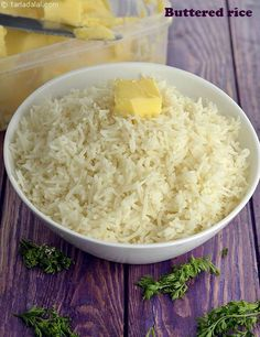 Buttered Rice, How To Make Buttered Rice