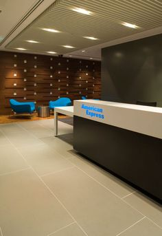 American Express headquaters, Sydney designed by Geyer's interior