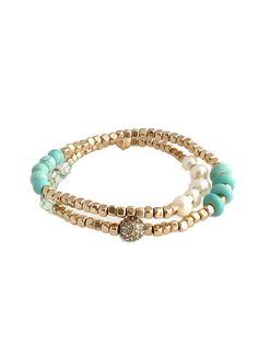 Pacific Beaded Bracelet