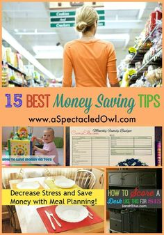 15 Best Money Saving Tips to help you with your finances and budget