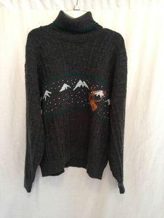 Gian Alberto Vintage Wool blend Men's Sweater