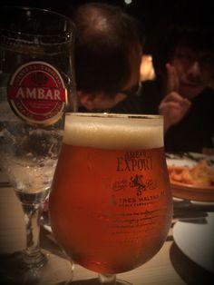 日頃のお疲れ会と、思いつきアイディア出しと、ちょいとだけ愚痴を吐き出してまた明日の活力に@スペインバルGarcia #beer #bal
