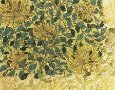 William Morris 'honeysuckle' 1883